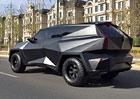 IAT-Auto p�edstav� v Pekingu koncept brut�ln�ho ter���ku