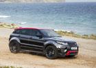 Range Rover Evoque dostal novou výbavu a speciální edici
