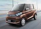 Prodej miniaut Mitsubishi a Nissan kvůli skandálu prudce klesl