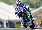 Motocyklová VC Francie 2016: Lorenzo a Lüthi pokořili kvalifikační rekordy