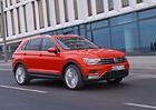 Volkswagen Tiguan m� kompletn� technick� data. Nejslab�� TDI jezd� za 4,7 l/100 km
