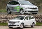 Škoda Fabia na CNG vs. Dacia Logan na LPG: CNG, nebo LPG?