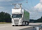 Scania: Prvn� elektrifikovan� cesta p�ed spu�t�n�m (+video)