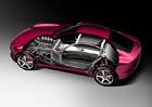 TVR ukazuje karbonové šasi nového modelu. Uplatní technologii iStream