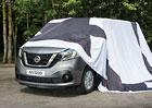Nissan začíná odhalovat užitkový NV300