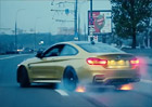 Video: BMW M4 driftuje v ulic�ch Moskvy