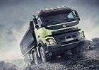 Stavební vozidla: Zejména Volvo FMX