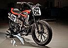 Harley-Davidson má nový plochodrážní stroj