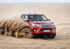 Toyota Hilux 8. generace: První jízdní dojmy z Namibie