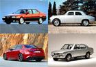 Krásné Italky: Velká galerie sedanů Alfa Romeo