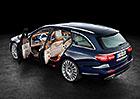Mercedes-Benz E: Nové kombi nabídne až 1820 l pro zavazadla