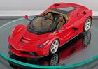 Ferrari LaFerrari Spider odhaleno d�ky zmen�en�mu modelu