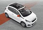 Peugeot 208 Roland Garros, 108 Top! Roland Garros a 108 GT Line: Styl i luxus v malém