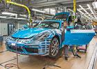 Porsche 718 Cayman: Čtyřválcové kupé se začalo vyrábět a odhalilo české ceny