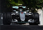 VC Evropy F1 2016: Nico Rosberg ovl�dl Baku stylem start-c�l