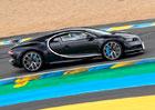 Bugatti Chiron je rychlej�� ne� speci�ly Le Mans