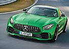 Mercedes-AMG GT R: Zelen� bestie m� 430 kW a um� 318 km/h (+video)