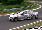 Spy video: Nov� BMW 5 jezd� na N�rburgringu i bokem