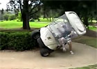 Video: Golfov� voz�k jako off-road nebo driftovac� speci�l