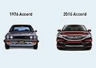 Honda Accord slaví 40 let: Od třídveřového kompaktu k velkému sedanu