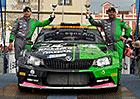 Racing 21 na Rallye Bohemia 2016: Den druh� � Boj o bronz a� do konce
