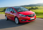 Modernizovan� Opel Zafira m� �esk� ceny. Je dra���, ale nab�dne v�ce v�bavy