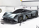 Aston Martin AM-RB 001: Kapotovan� formule z Gaydonu ofici�ln�
