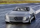 Mercedes přiveze do Paříže konkurenta Modelu S od Tesly