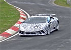 Spy video: Odleh�en� Lamborghini Hurac�n Superleggera u� piln� testuje