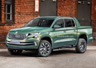 �koda VisionT: Co byste �ekli na kodiaq pick-up?