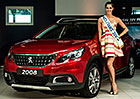 Miss Francie dostala Peugeot 2008