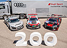 Audi R8 LMS: V Neckarsulmu vyrobili auto s po�adov�m ��slem 200