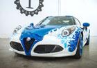 Alfa Romeo 4C Hokusai: Výstavní kus od Garage Italia Customs