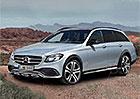 Je libo Mercedes E ve stylu Audi A6 Allroad quattro? Bude!