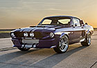 Shelby GT500CR: Modern� retro se speci�ln�m lakem �Blurple�. Za 6,4 milionu...