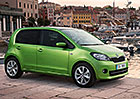 Škoda Citigo dostala diody a deštník, nikoliv však litrové turbo