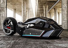BMW Titan: Nekonve�n� koncept rychlostn�ho stroje