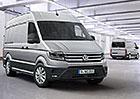Volkswagen Crafter: Nov� velk� dod�vka se p�edstavuje