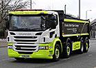 Scania Urban Tipper Concept: Pro bezpečnější provoz ve městech (+video)