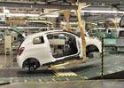 Výroba osobních aut v pololetí stoupla o 12 procent na 719.495