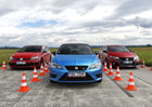 Honda Civic Type R vs. Seat Leon Cupra 290 vs. Volkswagen Golf GTI Clubsport