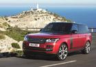 Range Rover: Modernizace p�inesla novou v�bavu a 550 kon�