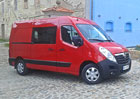 Opel Movano L1H2 2.3 CDTI Biturbo: Plné využití