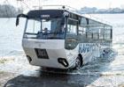 SwimBus: Obojživelný autobus pro Labe (+video)