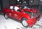 Euro NCAP 2016: Toyota Hilux – Tři nebo pět hvězd podle výbavy