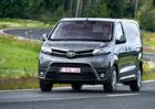 Zkusili jsme Toyotu Proace a Proace Verso: Odveze nábytek, nahradí MPV