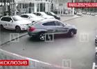 Video: Krádež na ruský způsob. Čtyři BMW za 30 sekund!