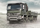 Mercedes-Benz Trucks v armádním na AAD 2016