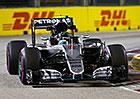 VC Singapuru F1 2016: Rosberg vyraz� do sv� 200. GP z prvn�ho m�sta