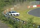 Video: Audi R8 na Ringu nezachr�nilo ani quattro